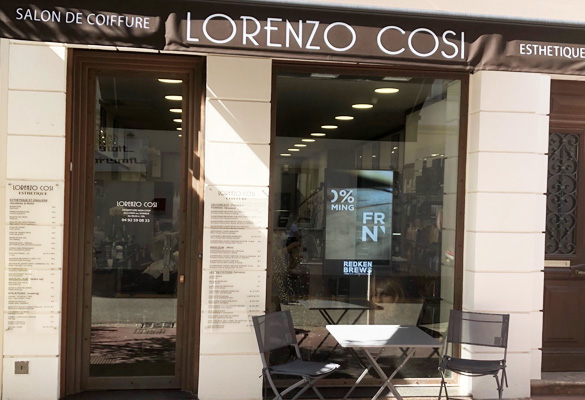 Cannes lorenzo cosi for Salon de coiffure mougins